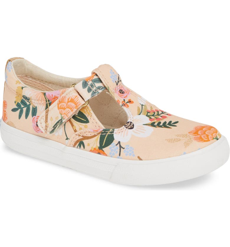 KEDS<SUP>®</SUP> x Rifle Paper Co. Daphne Mommy and Me Champion<sup>®</sup> Sneaker, Main, color, LIVELY PINK