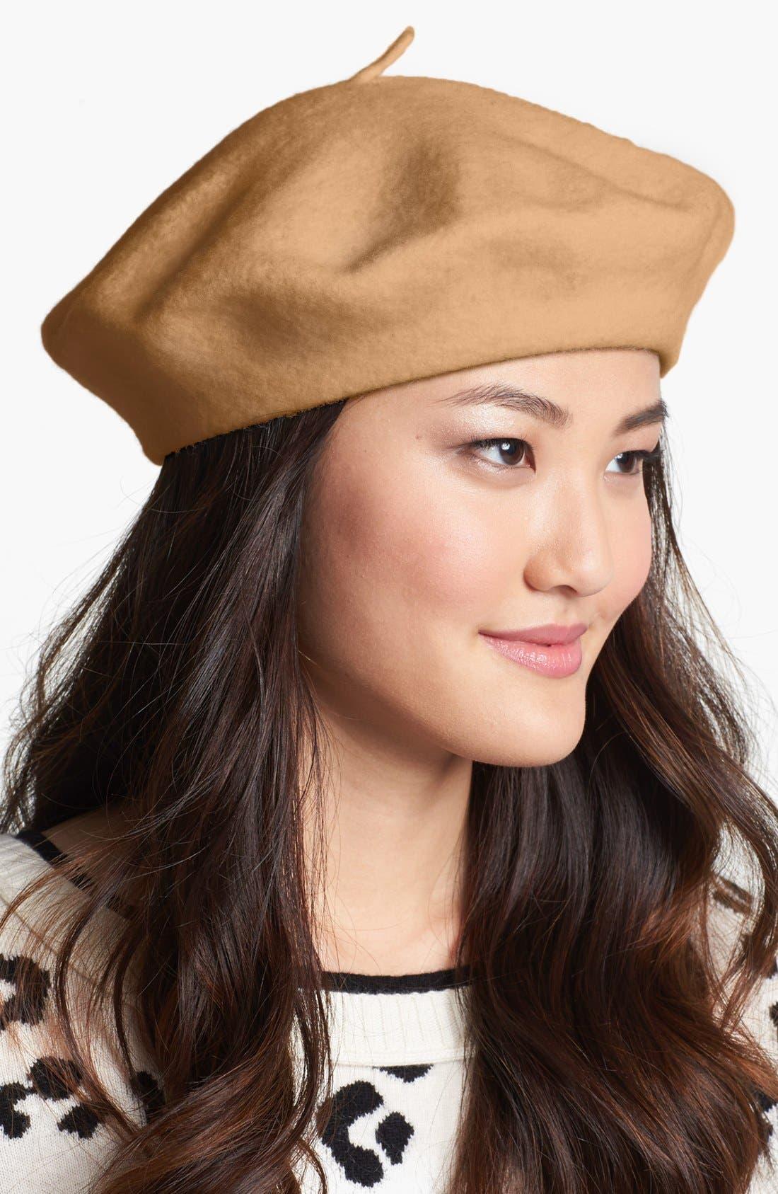 ,                             'Basic' Wool Beret,                             Main thumbnail 5, color,                             230
