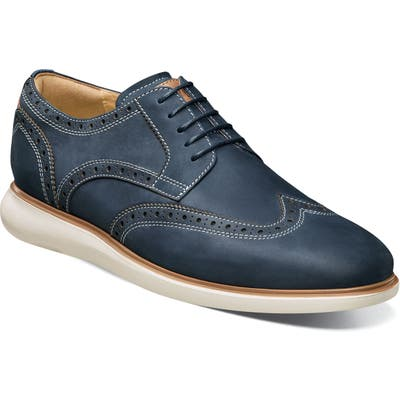 Florsheim Fuel Wingtip, Blue