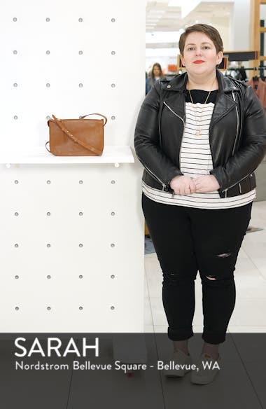 The Simple Leather Crossbody Bag, sales video thumbnail