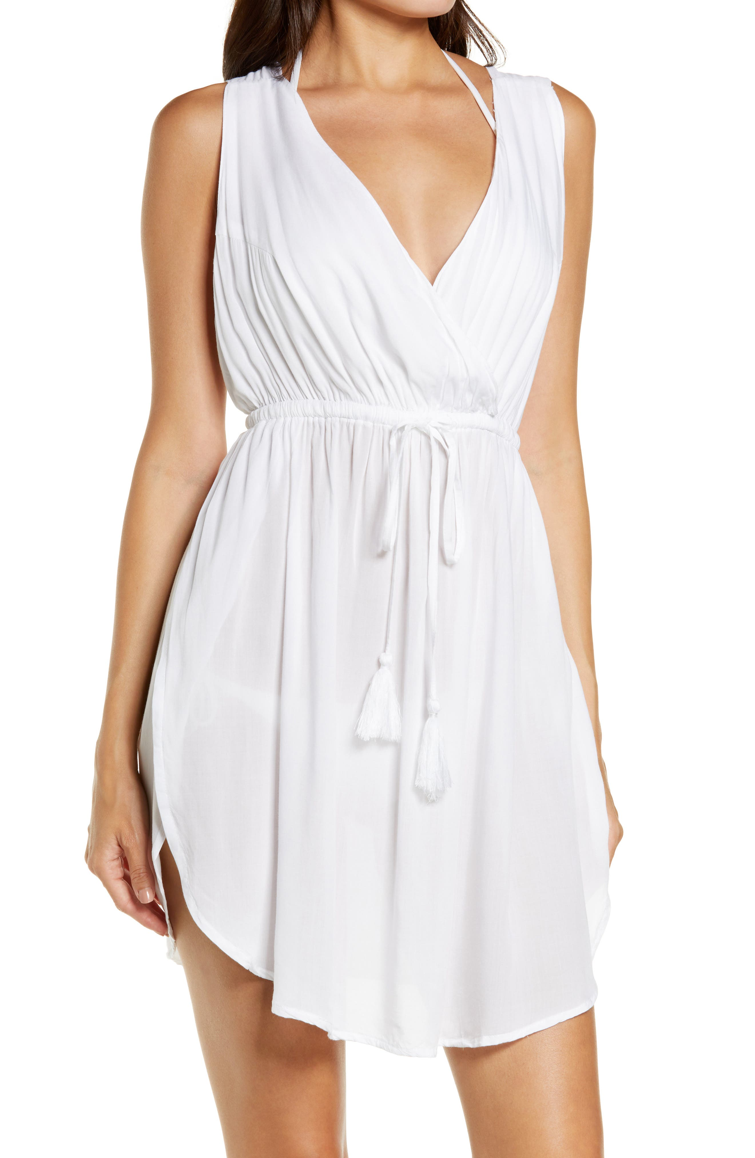 Slit Sides Sleeveless Dress