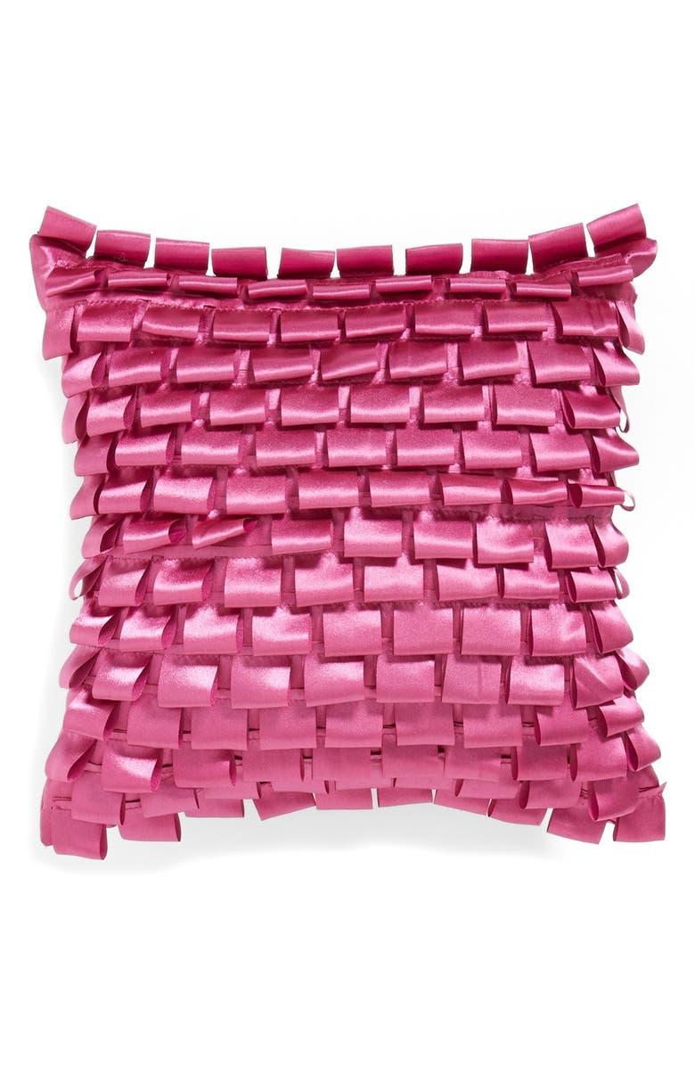 KAS DESIGNS 'Abbey' Ribbon Pillow, Main, color, 650