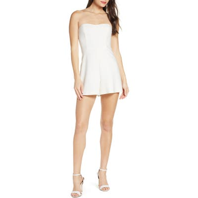 French Connection Sweetheart Jumpsuit, White