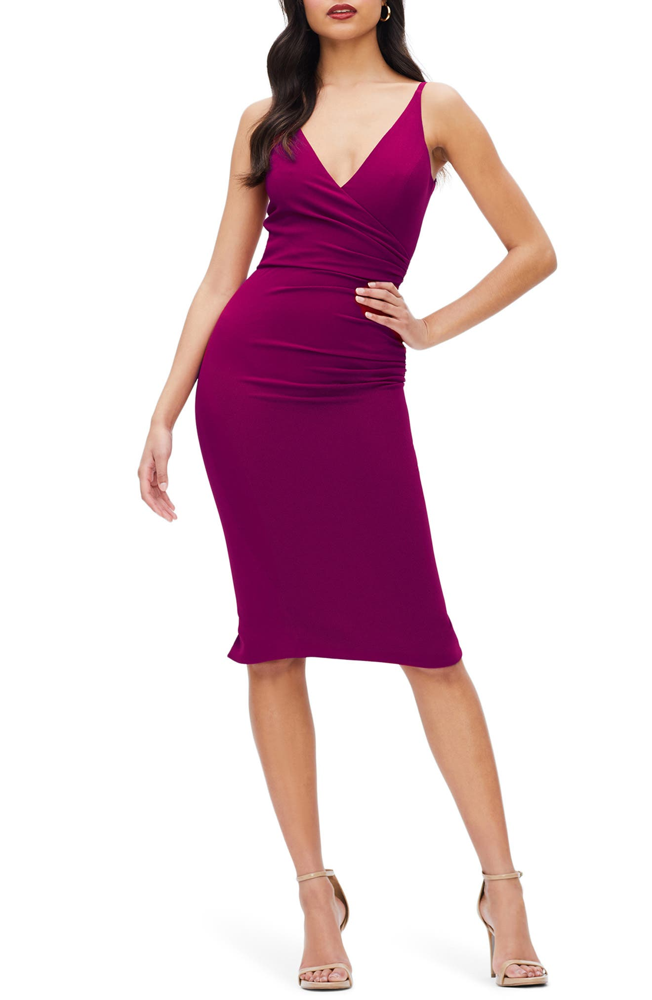Image of Dress the Population Anita Crepe Cocktail Dress