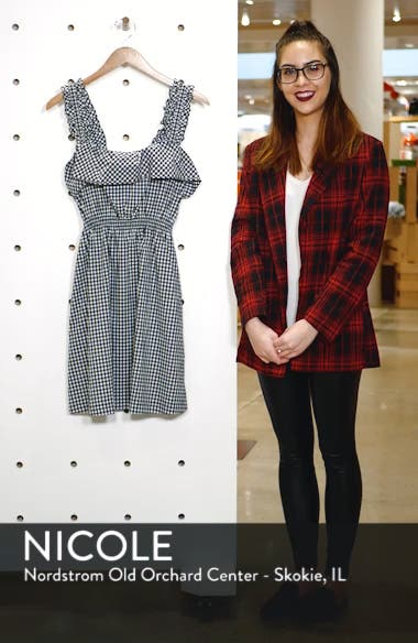 Gingham Ruffle Dress, sales video thumbnail