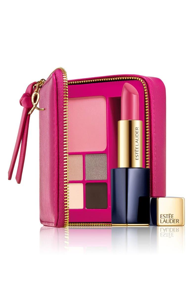 ESTÉE LAUDER 'Pink Perfection' Lip, Eye & Face Palette, Main, color, 000
