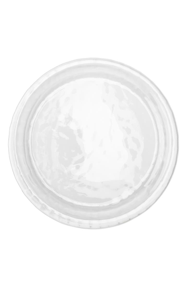JULISKA Carine Glass Charger Plate, Main, color, CLEAR