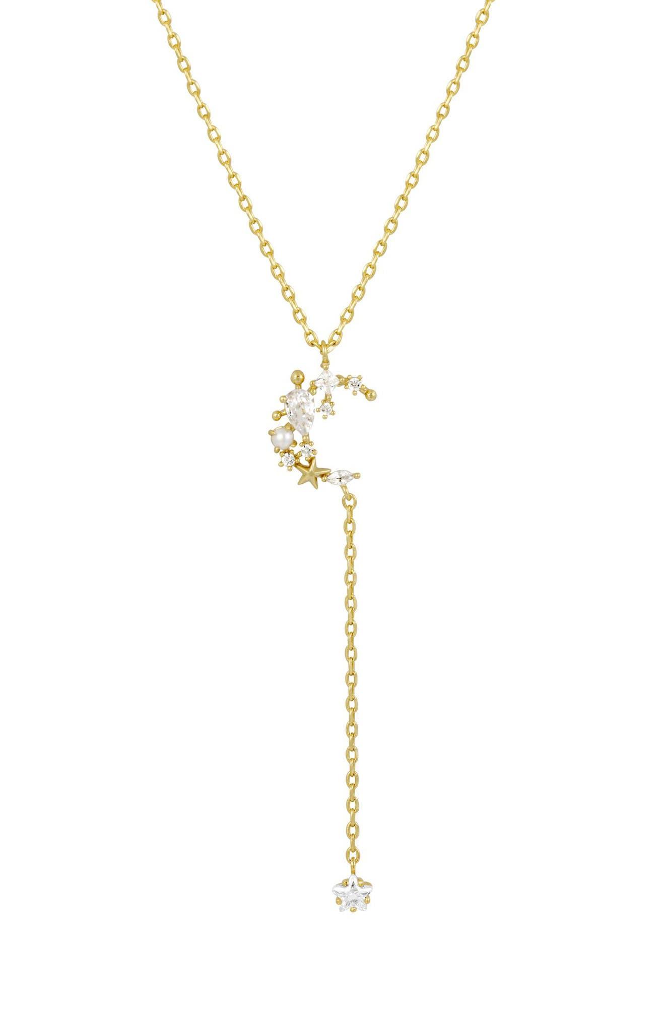 Midnight Dangle Y-Necklace