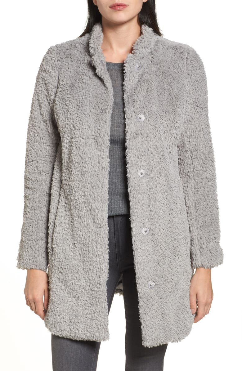 KENNETH COLE NEW YORK Faux Fur Jacket, Main, color, 033