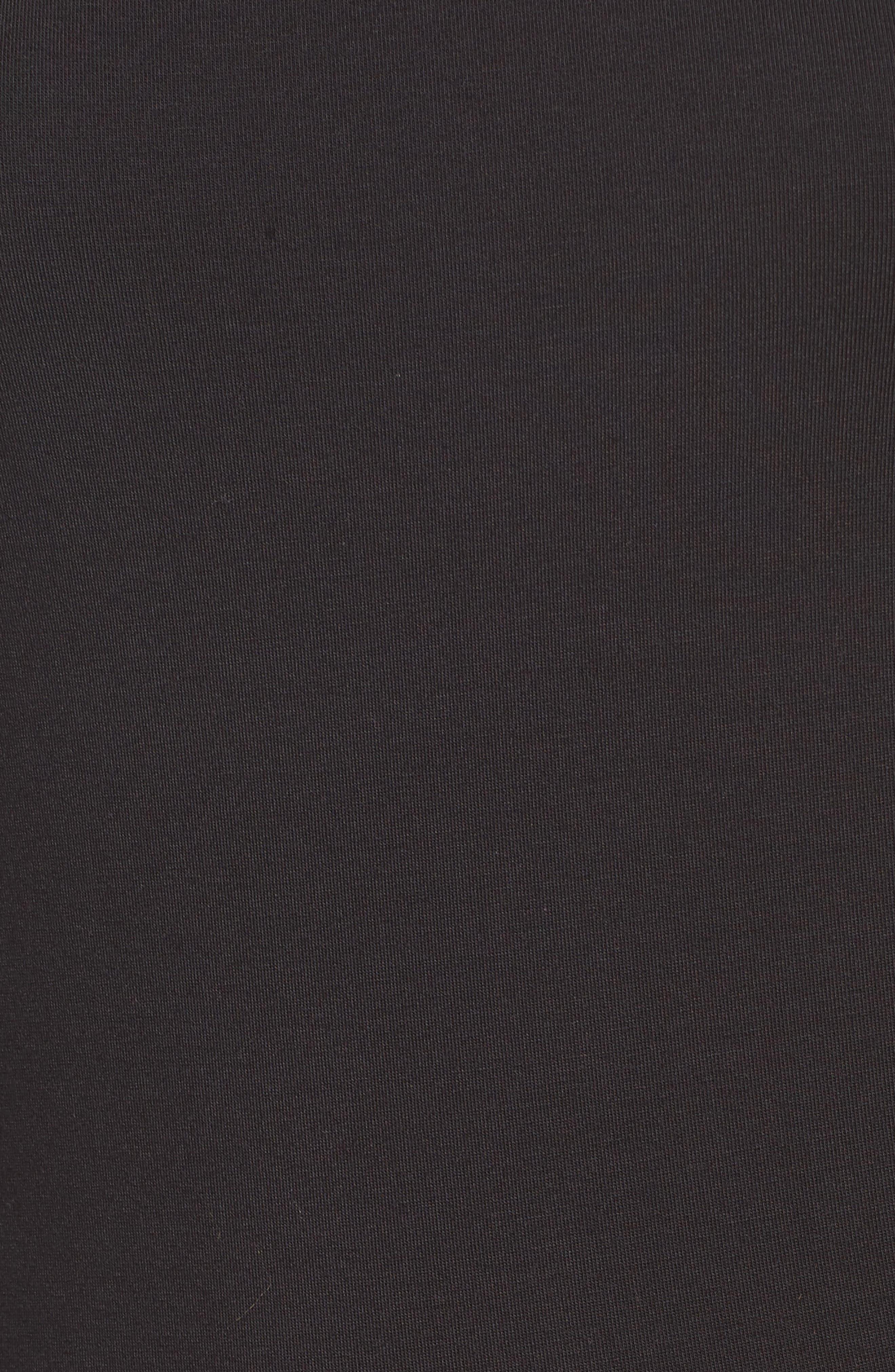 ,                             Francoise Stripe Top,                             Alternate thumbnail 5, color,                             BLACK