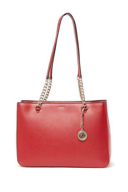 Image of DKNY Bryant Leather Shopper