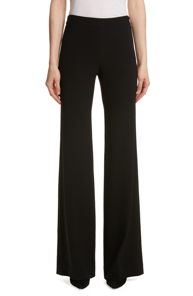 f7191f21a2e96b Theory Admiral Crepe Clean Flare Leg Pants | Nordstrom