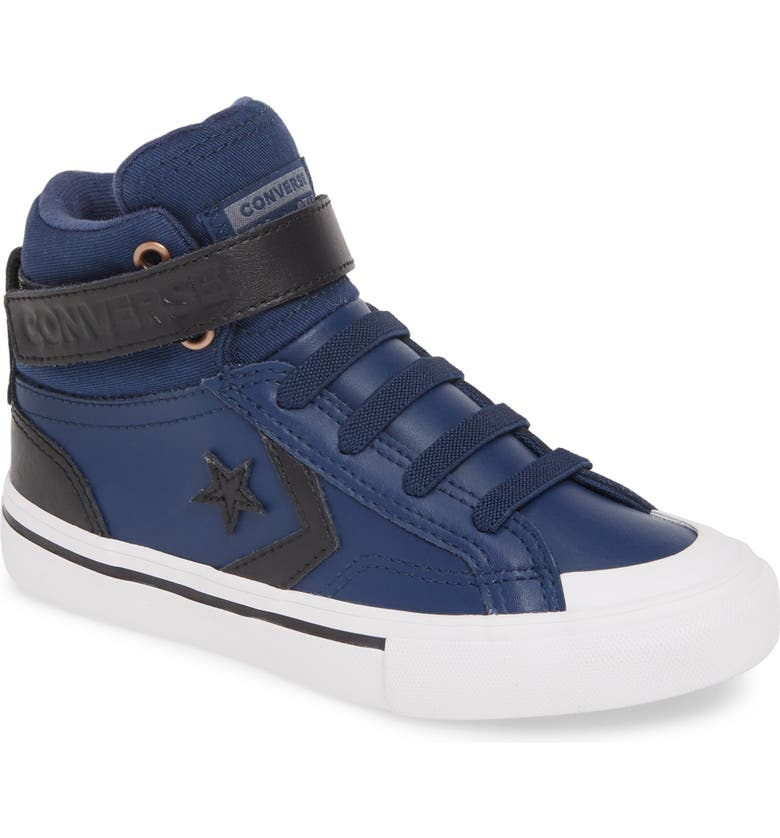 CONVERSE All Star<sup>®</sup> Pro Blaze Martian High Top Sneaker, Main, color, NAVY