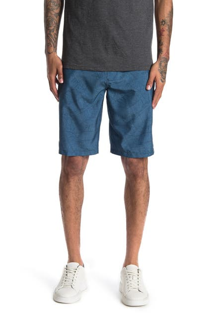 Image of Rip Curl Boarder Stripe Print Boardwalk Shorts