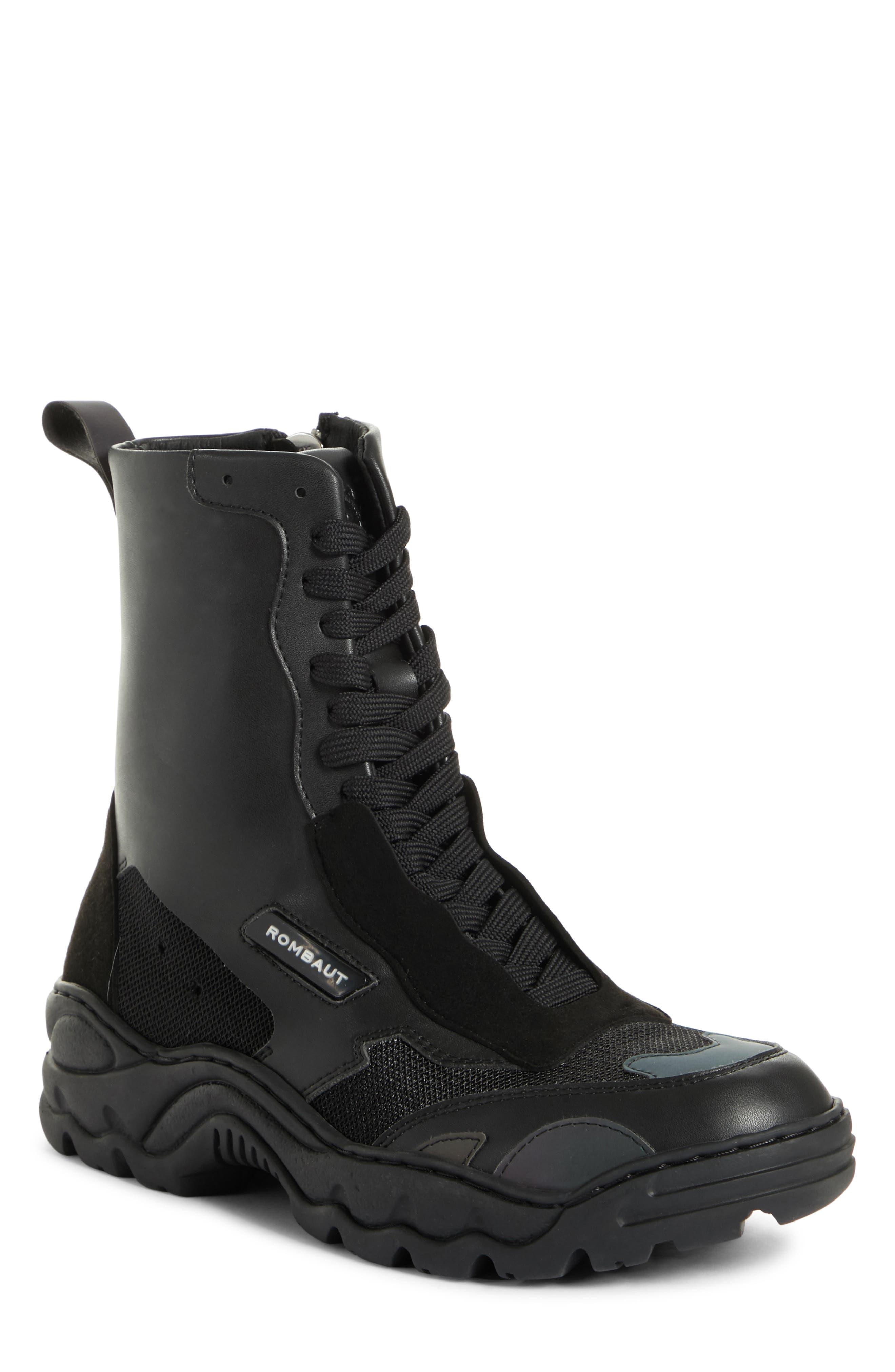 Boccaccio Sneaker Bootie, Main, color, CARBON