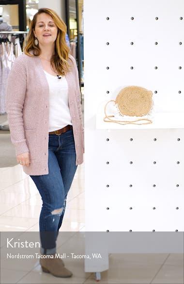 Marina Woven Circle Crossbody Bag, sales video thumbnail