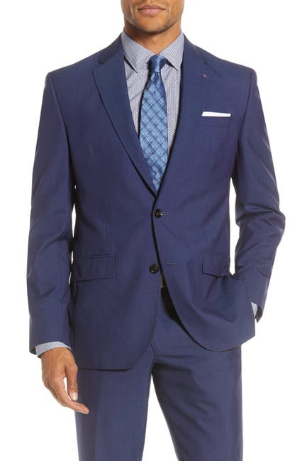 Image of Ted Baker London Jarrow Notch Collar Trim Fit Jacket