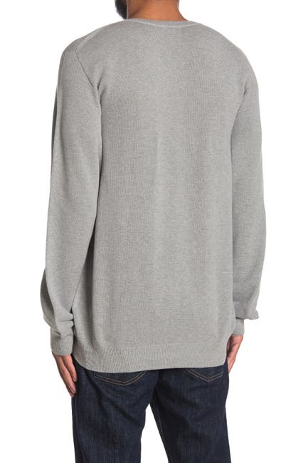 Image of Lacoste V-Neck Knit Pullover