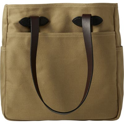 Filson Rugged Twill Tote Bag - Brown