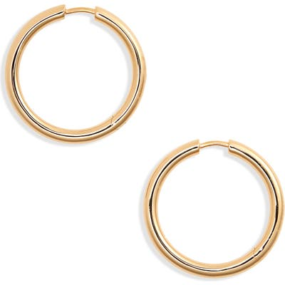 Tom Wood Large Classic Hoop Earrings