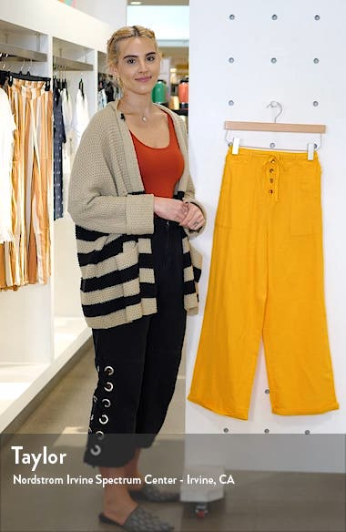 x Sincerely Jules Bring it On Cotton Drawstring Pants, sales video thumbnail