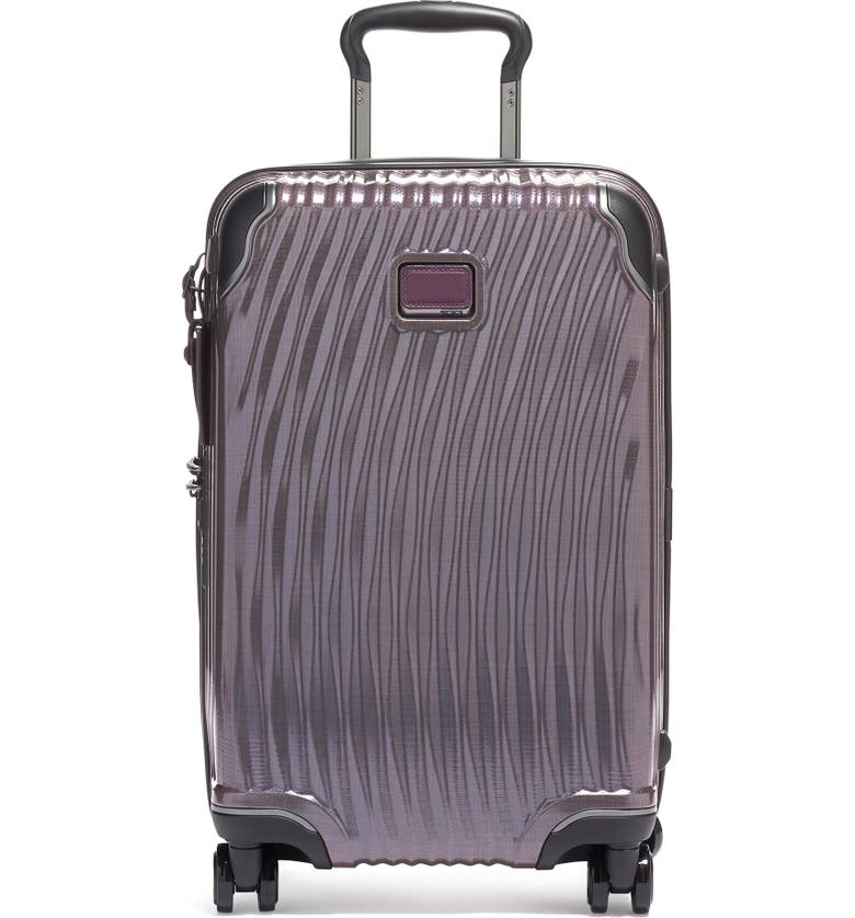 TUMI Latitude 22-Inch International Rolling Carry-On, Main, color, PURPLE
