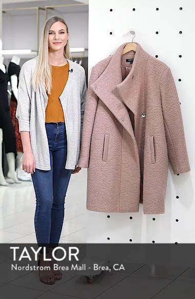 Pressed Bouclé Coat, sales video thumbnail