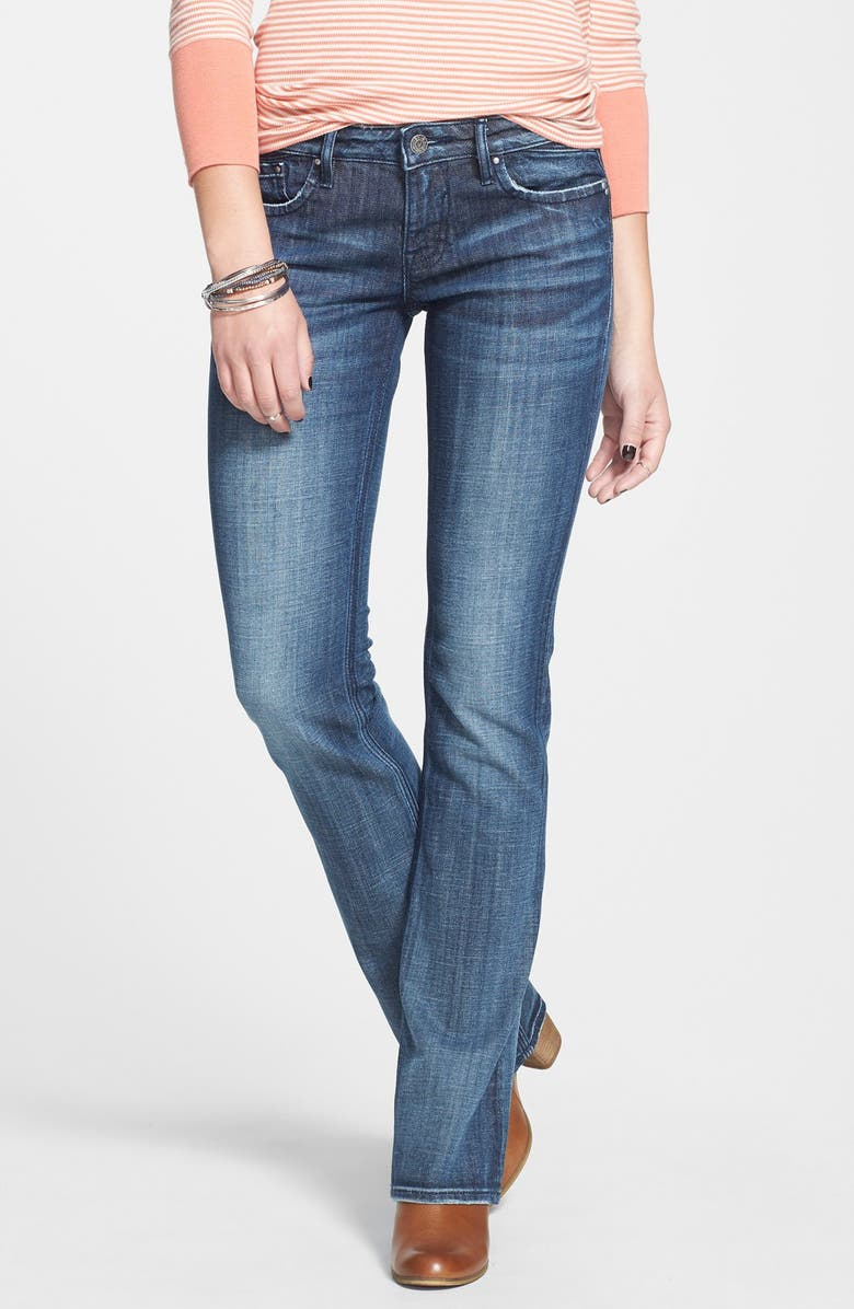 VIGOSS 'Chelsea' Bootcut Jeans, Main, color, 403
