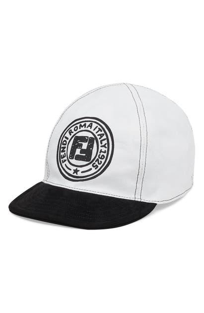 Fendi Caps STAMP REVERSIBLE BASEBALL CAP