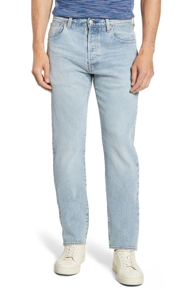 LEVI'S<SUP>®</SUP> 501<sup>®</sup> '93 Straight Leg Jeans, Main, color, 450