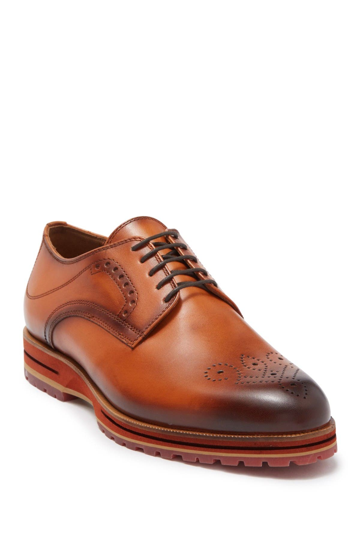 Image of MORAL CODE Mayson Leather Medallion Derby