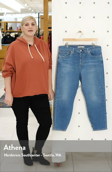 Wedgie High Waist Ankle Skinny Jeans, sales video thumbnail