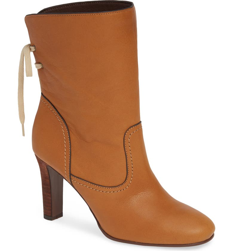 SEE BY CHLOÉ Lara Split Shaft Western Boot, Main, color, 200