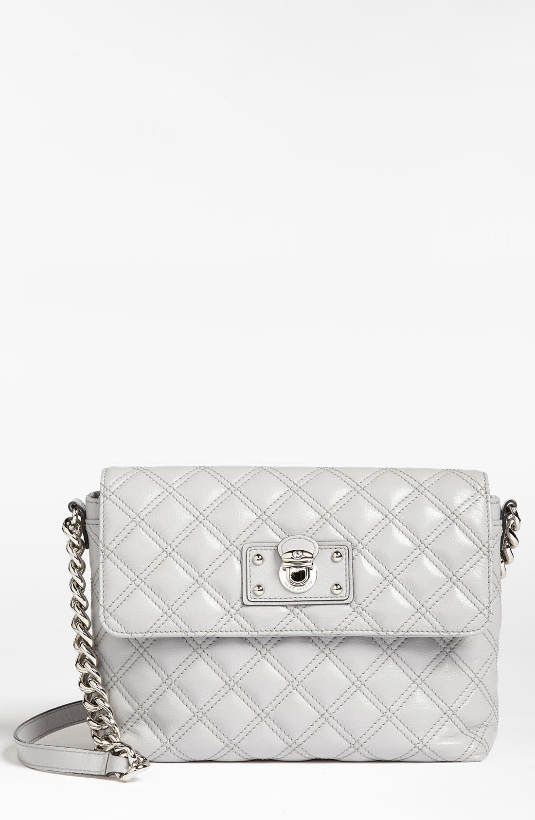 ,                             'Large Quilting Single' Leather Shoulder Bag,                             Main thumbnail 13, color,                             020