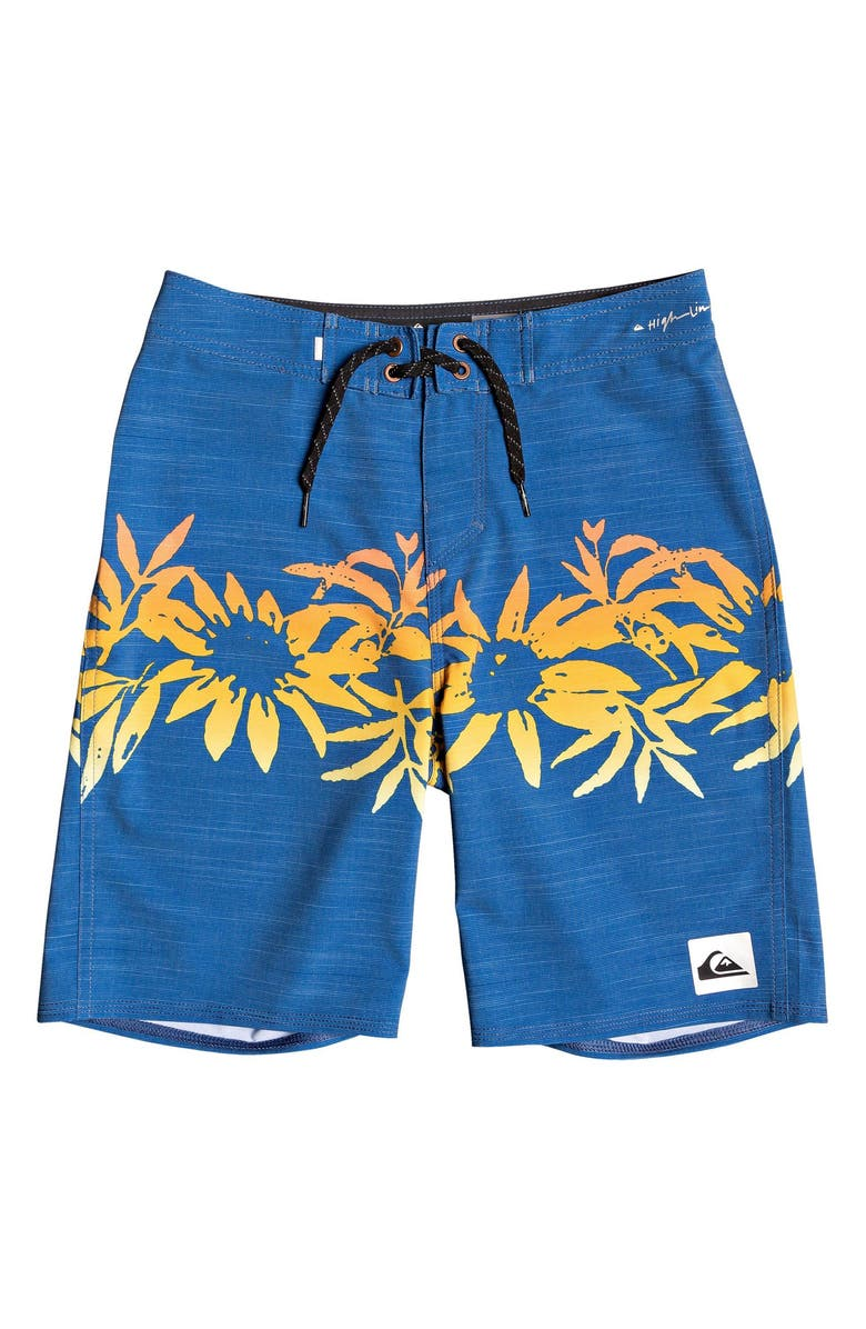 QUIKSILVER Highline Choppa Board Shorts, Main, color, TRUE NAVY