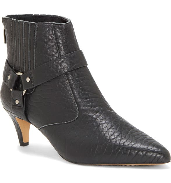 Vince Camuto Boots MERRIE HARNESS POINTED TOE BOOTIE