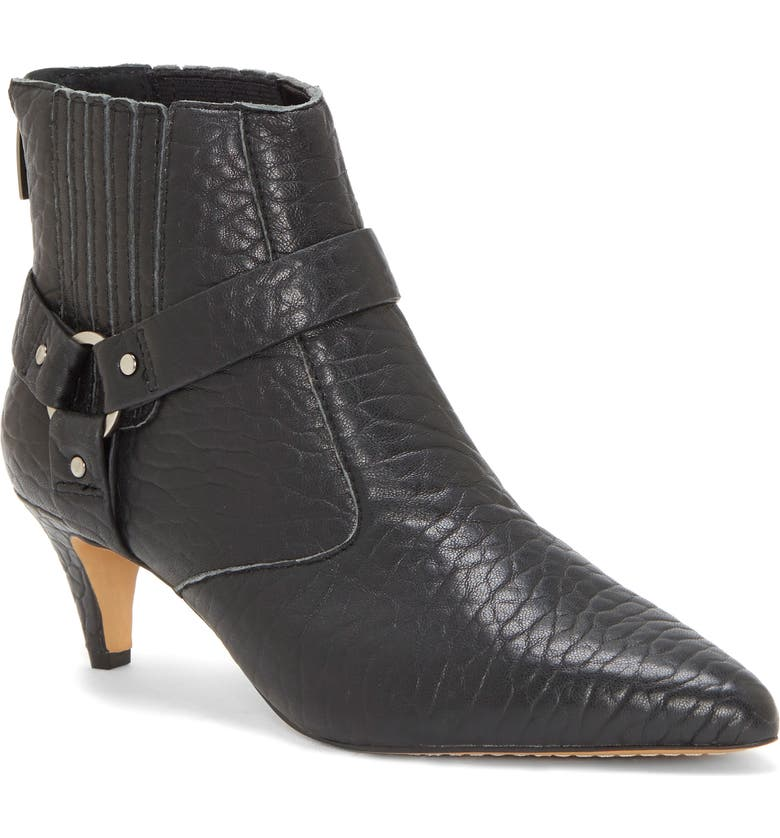 VINCE CAMUTO Merrie Harness Pointed Toe Bootie, Main, color, NO_COLOR