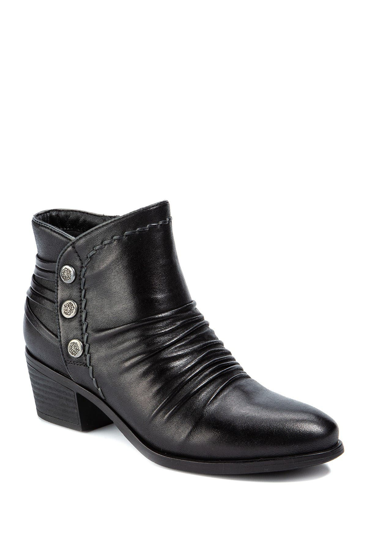 Image of BareTraps Bethany Ruched Ankle Bootie