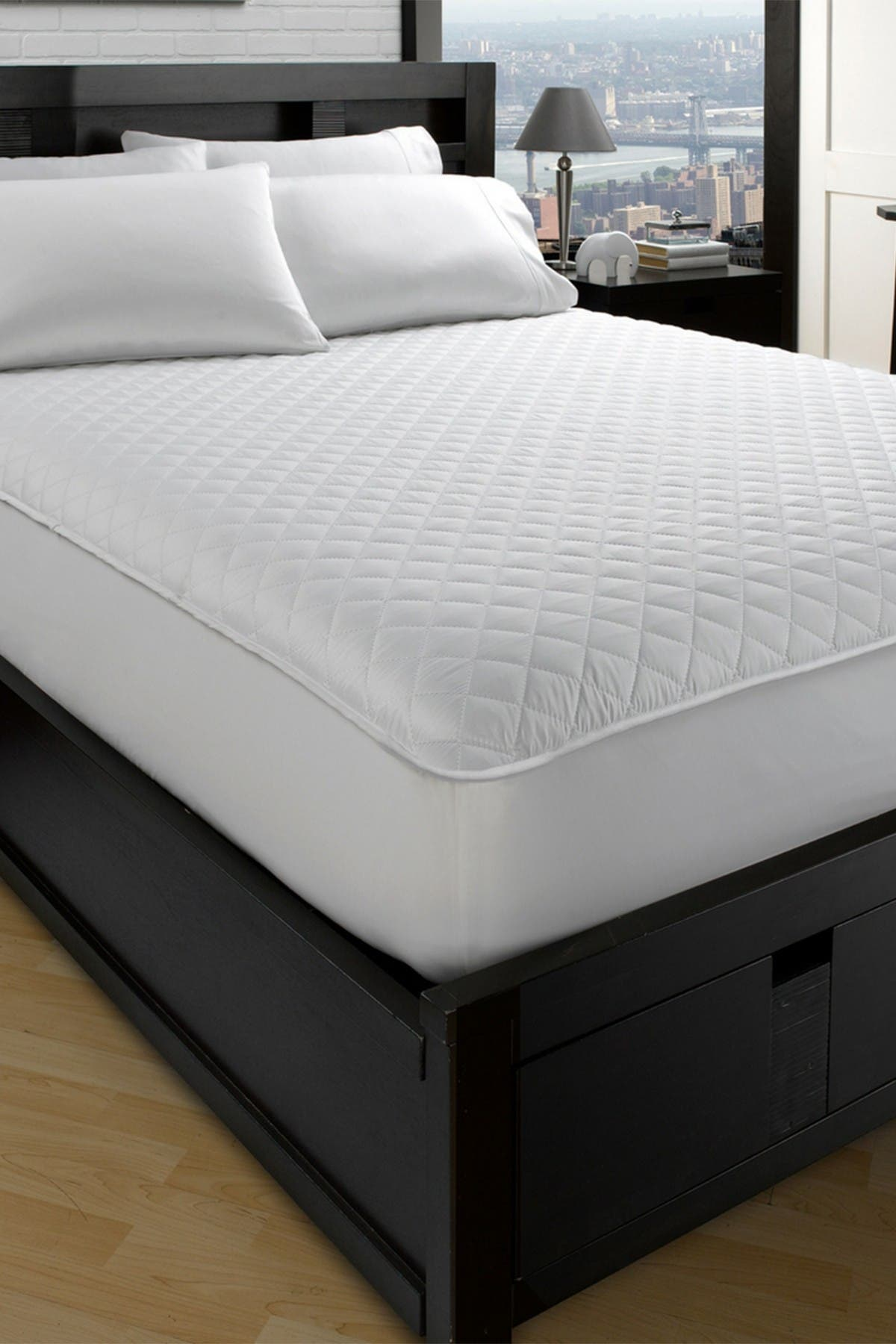 """Image of Ella Jayne Home Allergy-Free Dust Mite Free Twin XL Mattress Protector - 39""""x80"""""""