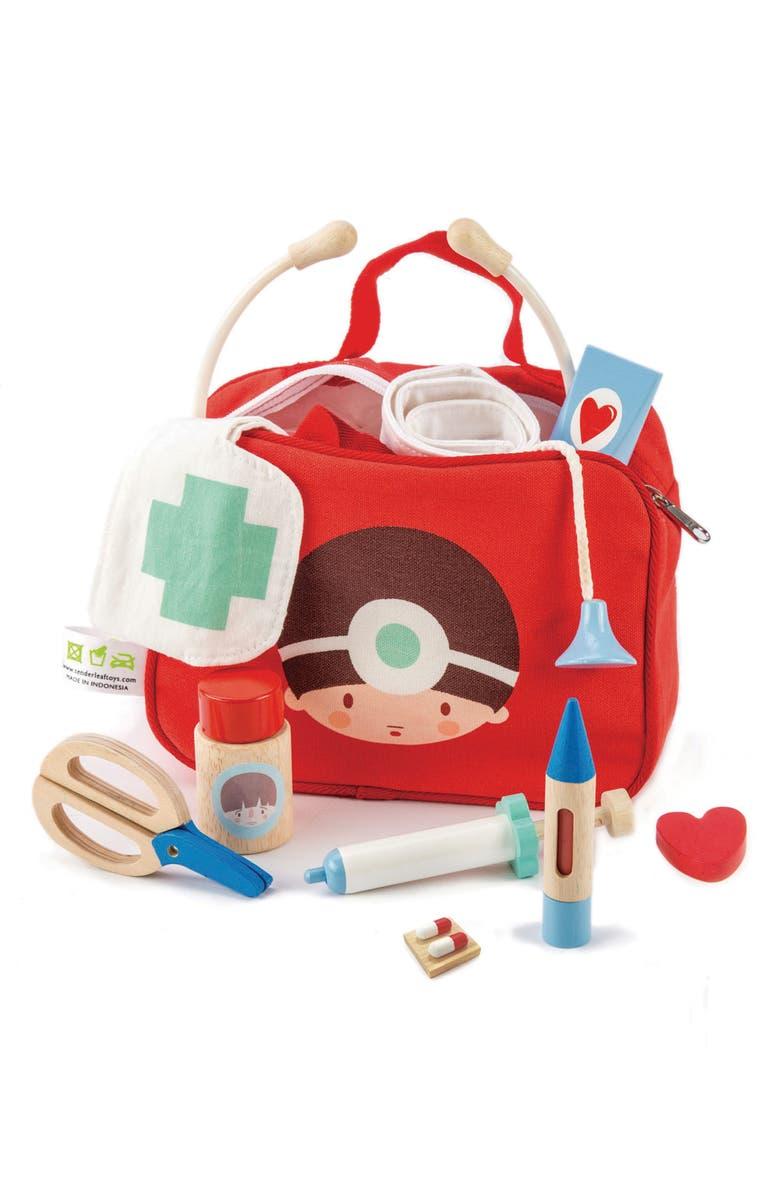 TENDER LEAF TOYS Doctors & Nurses Play Set, Main, color, MULTI