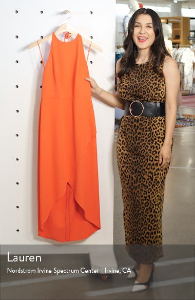Kristy Halter Neck High/Low Dress, sales video thumbnail