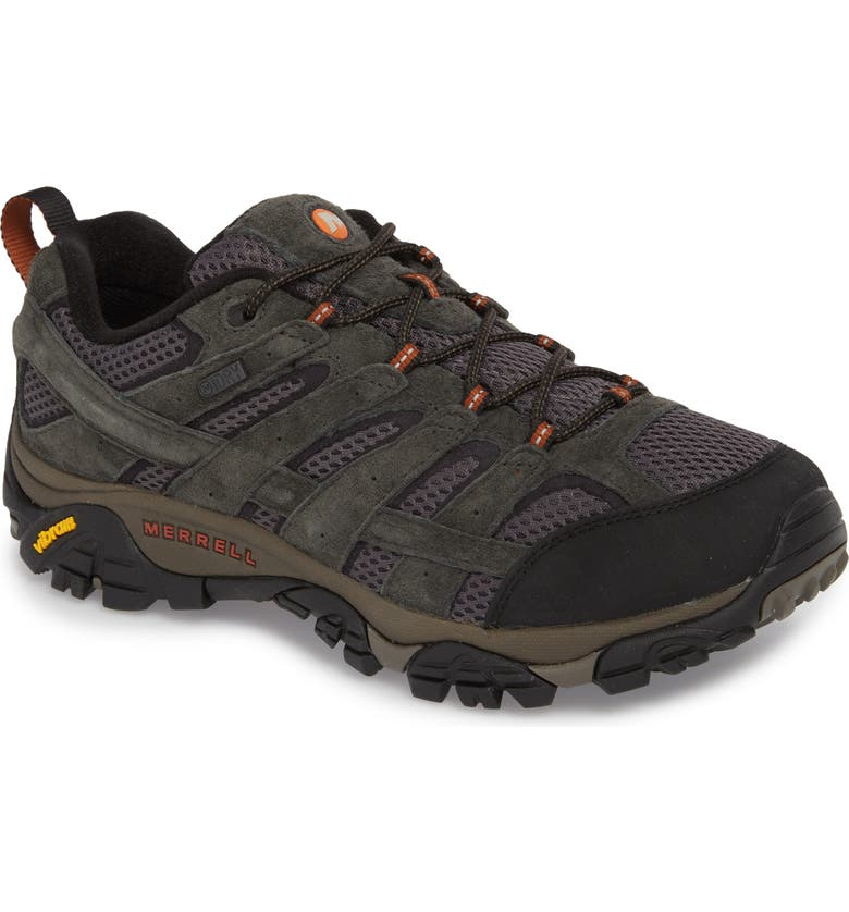 MERRELL Moab 2 Waterproof Hiking Shoe, Main, color, BELUGA/ BELUGA