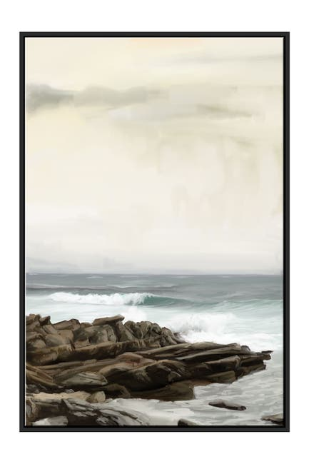 Image of PTM Images Rocky Shore Canvas with Floater Frame