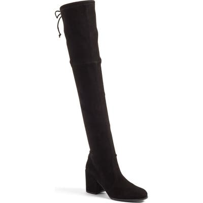 Stuart Weitzman Tieland Over The Knee Boot, Black