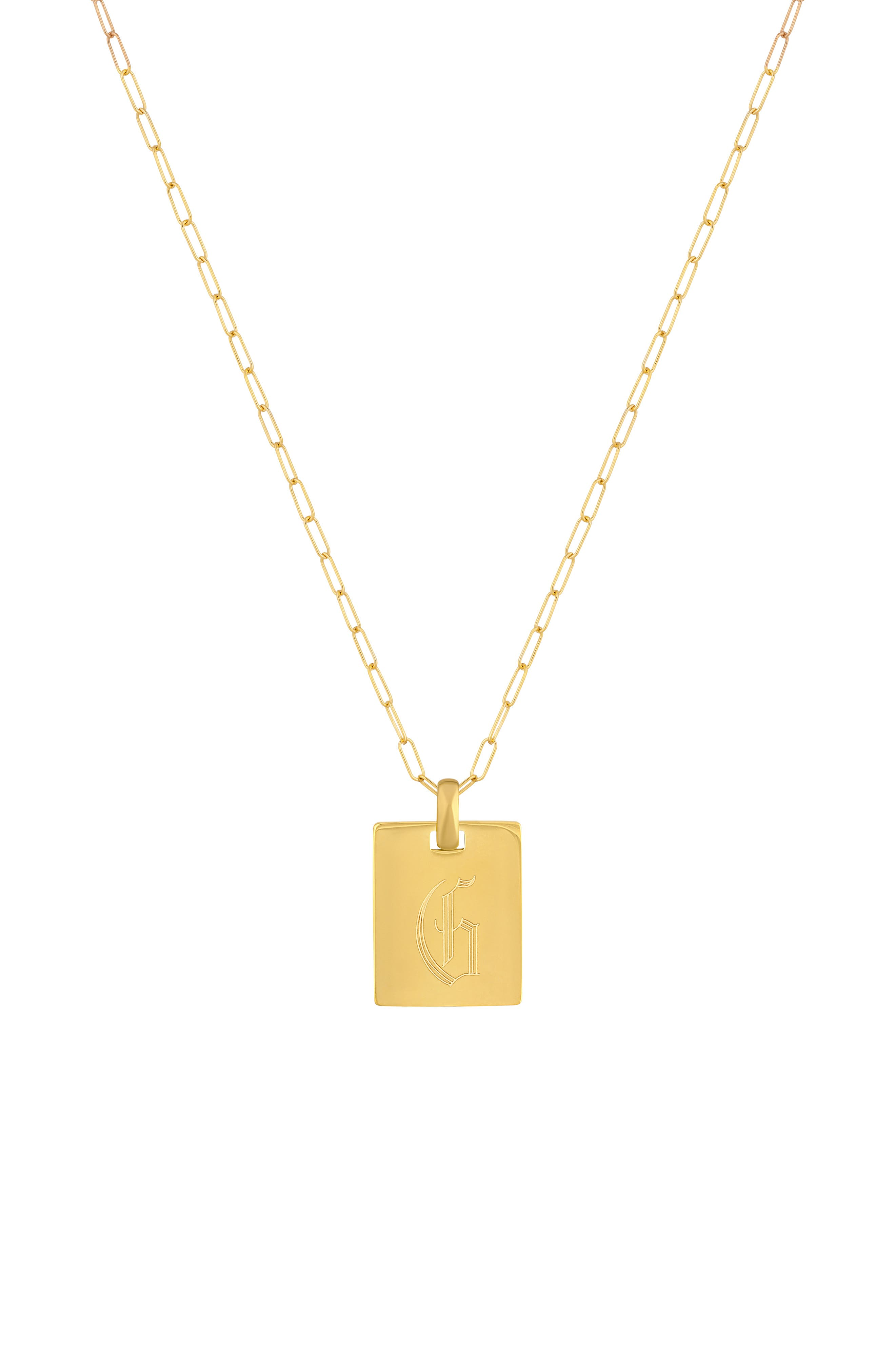 Say My Name Pendant Necklace