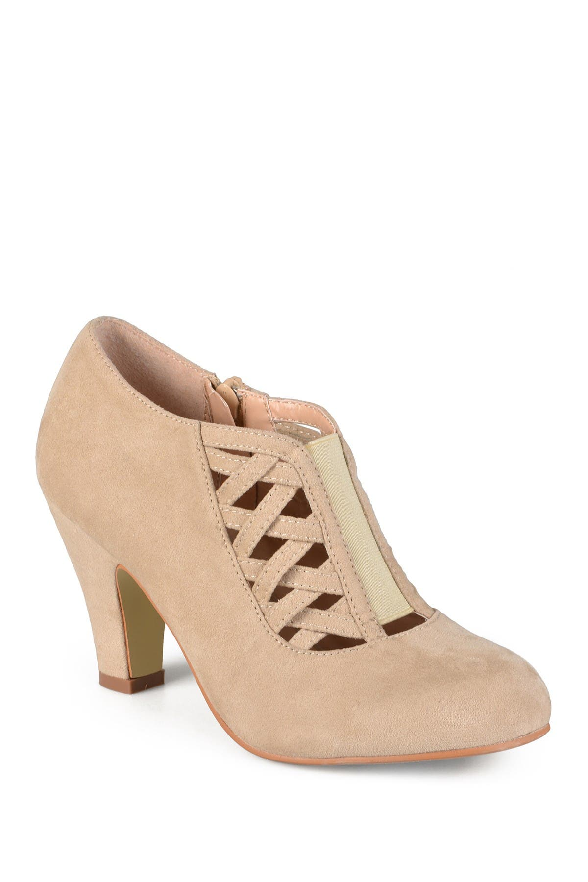 Image of JOURNEE Collection Piper Caged Ankle Bootie - Wide Width
