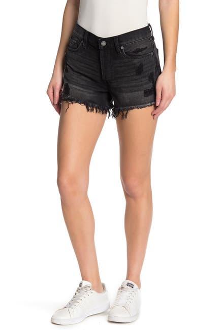 Image of BLANKNYC Denim High Waist Distressed Shorts