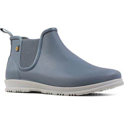 Bogs Sweetpea Chelsea Rain Boot, Grey