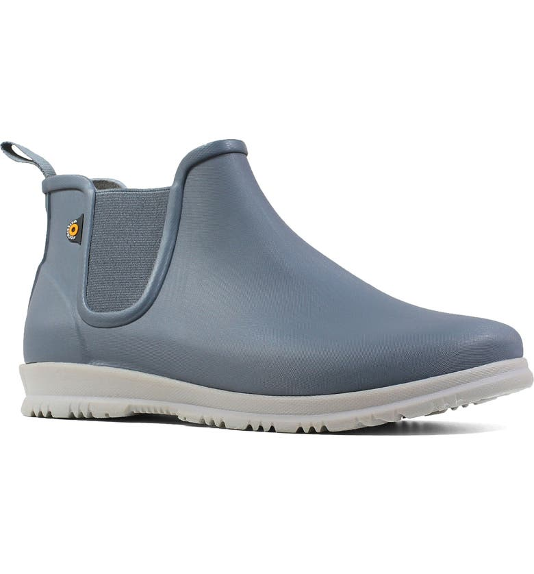 BOGS Sweetpea Chelsea Rain Boot, Main, color, MISTY GREY