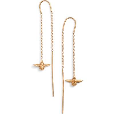 Olivia Burton Bee Chain Thread Through Earrings
